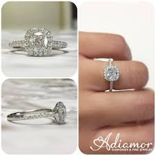 best diamond rings the best engagement rings of 2017 part 1 adiamor