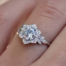 snowflake engagement ring best 25 snowflake ring ideas on beautiful rings