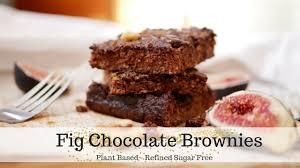 plant based brownies dairy free refined sugar free chocolate