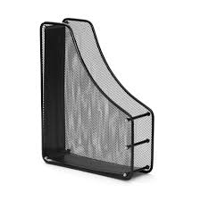 file holder for desk sturdy single metal mesh magazine file holder 2 colors available