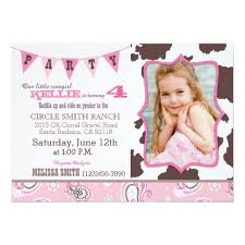417 best cowgirl birthday party invitations images on pinterest