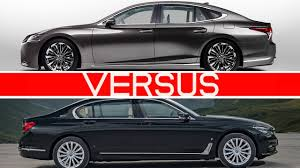 lexus ls hybrid 2018 price 2018 lexus ls vs bmw 7 series youtube