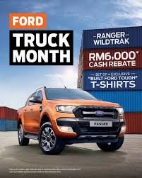 ford truck ford ranger wildtrak offers during ford truck month autoworld com my