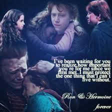ron and hermione a harry potter love story by bhargav08 on