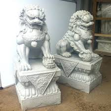 foo dog for sale lion garden statues for sale noharm club