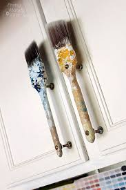 can cabinet handles be painted paintbrush cabinet door handles pretty handy