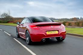 pergut car the double bubble bursts only 100 peugeot rcz coupes left in uk