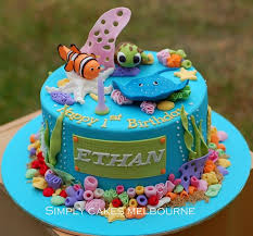 249 best cakes sea life images on pinterest 4th birthday