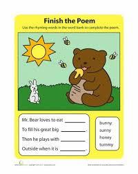 17 best rhyming words images on pinterest rhyming words