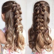 girl hair best 25 girl braid hairstyles ideas on girl