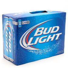 bud light can oz bud light 12 pack 12 oz cans beer wine and liquor delivered to