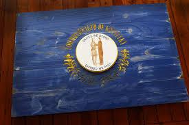 My National Flag Kentucky Vintage Wood Flag U2013 Patriot Wood