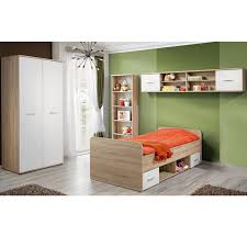 chambre complete enfants chambre complète enfant 4p dino i chêne blanc