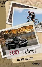 jeep patriot 2010 1 g user guide