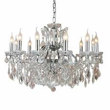 12 Arm Chandelier The Toulouse Chrome 12 Branch Shallow Chandelier 519 00
