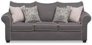 queen memory foam sleeper sofa carla queen memory foam sleeper sofa gray value city furniture gray