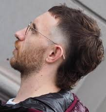 mullet style mens haircuts image result for middle part mullet hair pinterest mullet