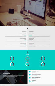 Interactive Resume Privado Interactive Personal Wordpress Theme By Codetic