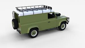 green land rover defender land rover defender pack with interior by dragosburian 3docean