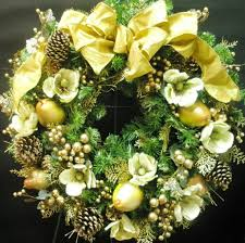 Decorated Artificial Christmas Wreaths For Sale by Attractive Decorated Artificial Christmas Wreaths Part 13