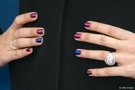 aishwarya rai copy her two tone chrome nail style