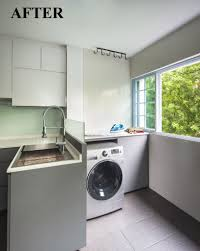kitchen designs and more maybe the chute area we can do something like this washing