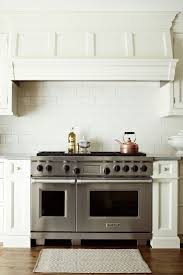kitchen white paint wooden stove hoods with nutone range hood