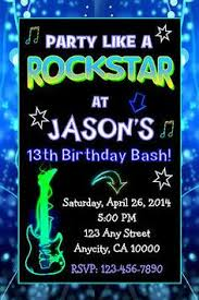 varsity ticket teen birthday party invitation birthday party