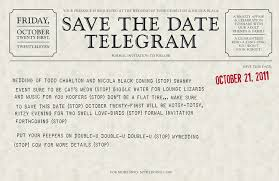 save the date wording telegram save the dates by nicola black design nicola black design