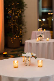 simple cocktail table decor orchids candles gold cocktailtable