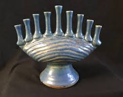 ceramic menorah ceramic menorah etsy