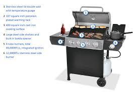 walmart backyard grill 4 burner propane gas grill only 99