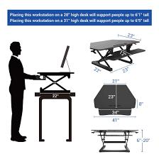 Adjustable Height Corner Desk Amazon Com Flexispot Standing Desk 41