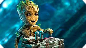 guardians of the galaxy 2 baby groot button clip
