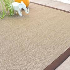 tapis extérieur pvc tressé beige 200 x 290 cm decoweb