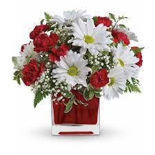 local florist delivery and white delight by teleflora in pittsfield il flowers n more