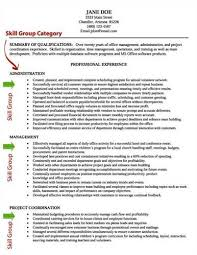 Example Skills Resume by How To Write A Powerful And Successful U003ca Href U003d