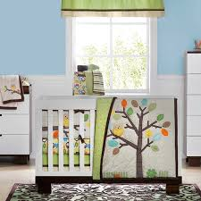 amazon com arbor friends 4 piece baby crib bedding set by not