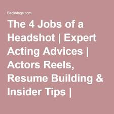 resume acting 18 best macy acting resume images on pinterest acting tips