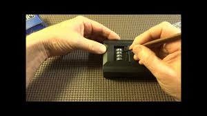 digital key lock box wall mount 85 how to decode a brinks combination lock box easy youtube