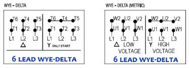 6 lead motor starter wiring diagram 6 wiring diagrams