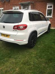 volkswagen tiguan black 2010 vw tiguan 2010 r line in hove east sussex gumtree