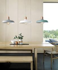 beacon lighting croft 1 light metal pendant in ash with brushed