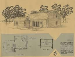Gambrel Cabin Plans by Vintage Log Cabin Plans 2 Antique Alter Ego