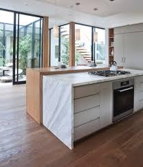 modern farmhouse decor kitchen contemporary with cantilevered