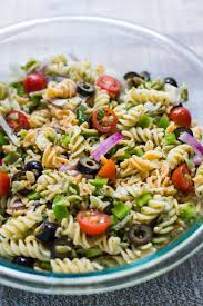 Pasta Salad Recipes Cold by Quick U0026 Easy Pasta Salad B Britnell
