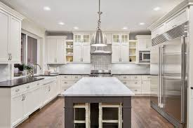 white kitchen cabinets stain painted vs stained cabinets which one should you choose
