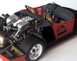 f40 suspension tamiya 1 24 f40