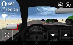 traffic racer apk desert traffic racer free android