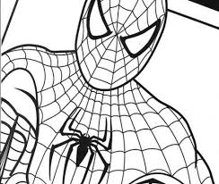 printable coloring pages spiderman best of spiderman cartoon coloring pages collection printable